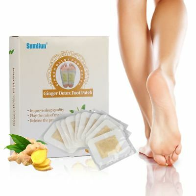 Health Care Detoxifying Pads Ginger Herbal Improve Sleeping Detox Foot Patches