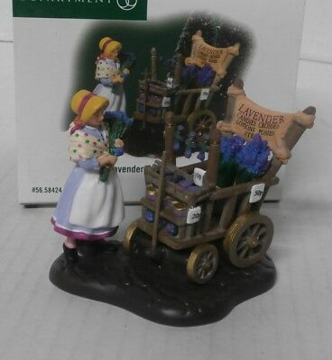 Department 56 Dickens' Village Accessories Lavender Costermonger #56.58424 - b6