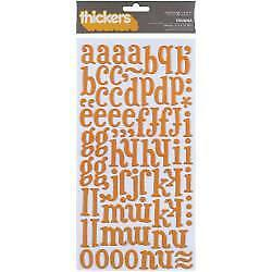 NEW American Crafts - Thickers Printed Chipboard Stickers Iguana-Melon
