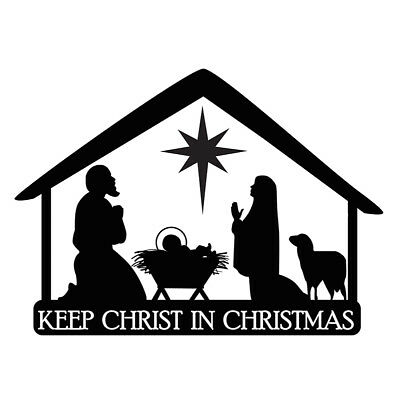 Keep Christ in Christmas Magnet for the Car- Spread the Word!