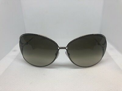 62d5a1d353fd9 NEW TOM FORD Clemence 65mm Open Temple Oversize Dark Metal ...