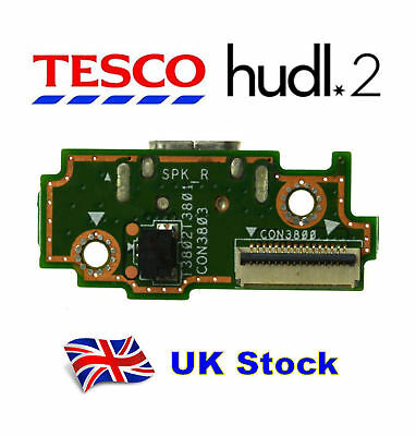 Tesco Hudl 2 Genuine Charging Board Port DC Micro USB Port Fast Delivery 01293