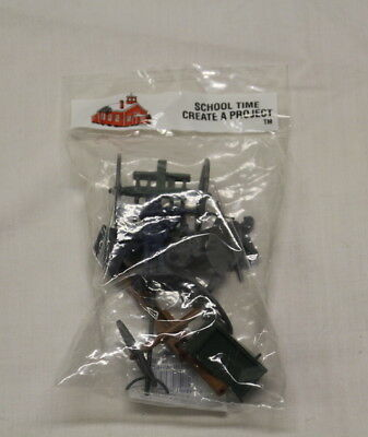 CREATIVE TIME Create A Project Cannon on Wheels Diorama Model Accents 7056