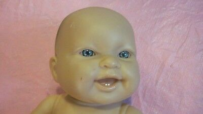 """Berenguer 13"""" Vinyl Doll Drink and Wet Baby with 2 teeth"""