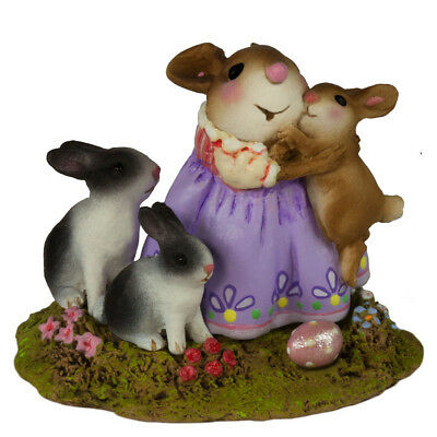 SNUGGLE BUNNIES by Wee Forest Folk, WFF# M-502a, Limited Edition 2018 Easter