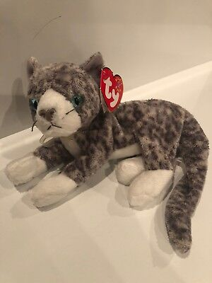 MINT with MINT TAG TY PURR the CAT BEANIE BABY