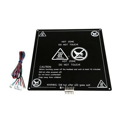 Aluminum MK3 12V Heated Bed Hotbed for 3D Printer with Wire Cable Line