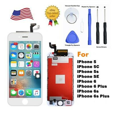 LCD Display Touch Screen Digitize Assembly Kit for iPhone 5 5s 6 6s Plus SE Lot