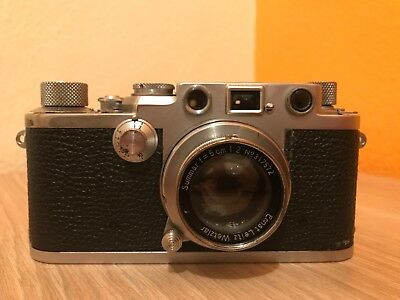 Leica IIIc with Summar lens- 40s Great condition