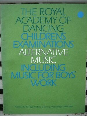 The Royal Academy Of Dancing Children S Examinations 1968