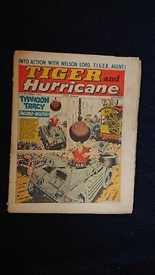 Tiger And Hurricane Magazine 27Th Nov 1965 Fleetway Pulications