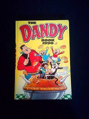 The Dandy Annual 1990 Vintage Comic Hardback Book