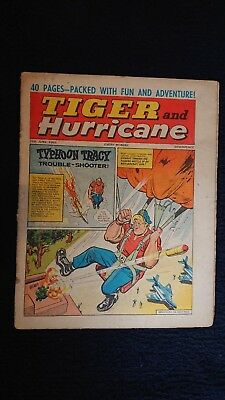 Tiger And Hurricane Magazine 26Th June 1965 British Comic