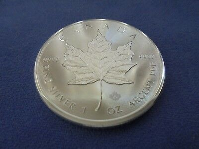 1oz 2016 Canadian Silver Maple Leaf Coin