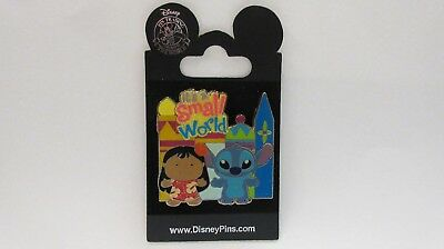 "Hong Kong Disneyland 2008 ( "" it's a small world "" ) Lilo and Stitch Pin"