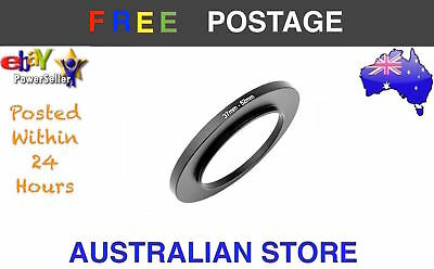New 37-52mm 37mm to 52mm Metal Step Up Lens Filter Ring Adapter DSLR