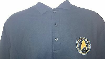 Star Trek Starfleet United Federation Of Planets Polo Shirt