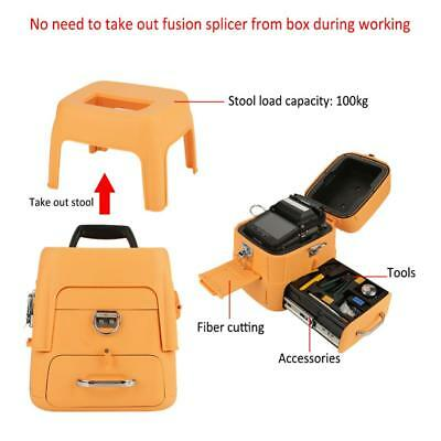 Ai8 Fiber Welding Splicing Machine Optical Fiber Fusion Splicer 100-240V 50/60Hz