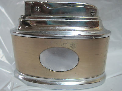 vintage Japanese table lighter, similar to Ronson Senator