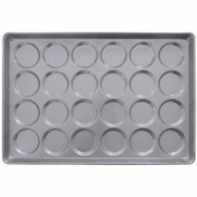 Chicago Metallic ePan Aluminum Hamburger Bun Pan For 24 Buns (42495)