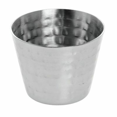 American Metalcraft  Sauce Cup2 Oz Hammered Stainless Steel