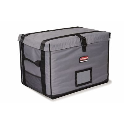 Rubbermaid ProServe Cool Grey Nylon Top Load Half Size Insulated Food Delivery