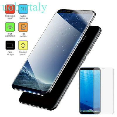 UK 9H Tempered Glass Screen Protector For Samsung Galaxy S8/S8+/S7 Edge NOTE8 JL