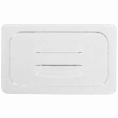 Cambro Camwear� 1/4 Size Clear Polycarbonate Food Pan Lid with Handle