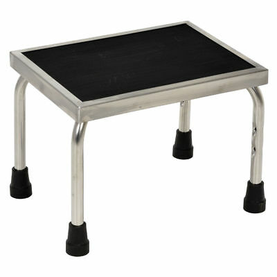 Vestil FT-SS-1 Stainless Steel Foot Stool, Silver