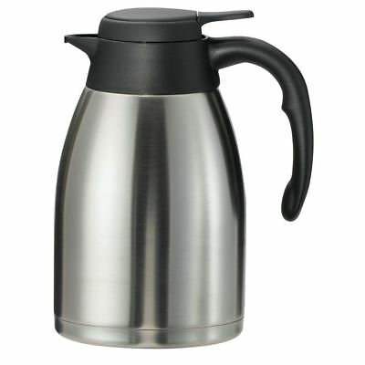 Service Ideas Steelvac? 1.6 L Flow Control Stainless Steel Carafe