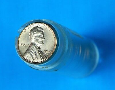 Roll of US 1964 D Lincoln Memorial 50 Pennies Penny 1 One Cent  Coin Coins