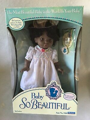 Baby So Beautiful Playmates 1995 African American Doll