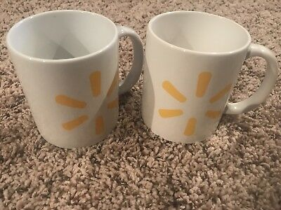New Walmart Spark Collectible Coffee Mugs Set Of 2 FREE SHIPPING