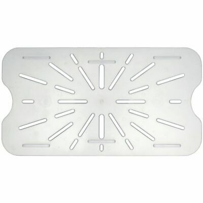 Drain Shelf For Cold Food Pans Translucent Drain Shelf, Full Size