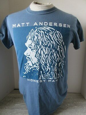2016 Matt Andersen Honest Man Concert Tour T-Shirt Gildan Size Small