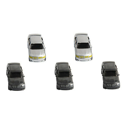 5x 1:75 Car Model DIY Sand Table Building Material Vehicles Model Accessory