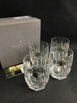 WATERFORD CRYSTAL Westhampton Double Old Fashioned DOF Whisky Glasses NIB