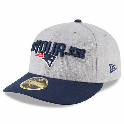 NFL New England Patriots Era Official On Stage Low Profile 59FIFTY Fitted Cap