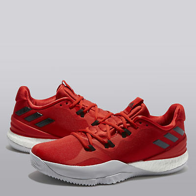 online retailer da543 dba95 adidas Crazy Light Boost 2018 Basketball Shoes Scarlet Mens