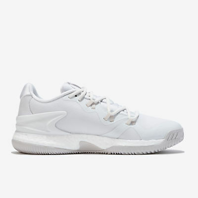 adidas Crazy Light Boost 2018 Basketball Shoes Crystal White Mens