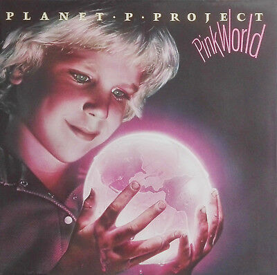 "PLANET P PROJECT - PROGROCK ""Pink World"" - 1984 -  2 LP Gatefold Cover"