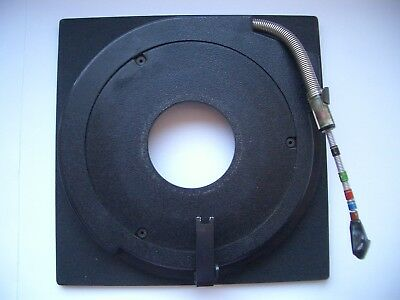 Genuine Sinar F & P  lens board panel with copal compur 1  hole 41.6mm 11mm STEP