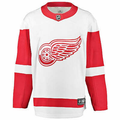 NHL Detroit Red Wings Fanatics Branded Away Breakaway Jersey Shirt Mens