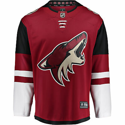 NHL Arizona Coyotes Fanatics Branded Home Breakaway Jersey Shirt Mens