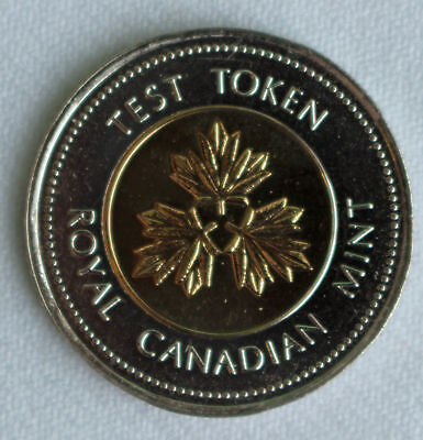 2004 Canadian PROOF Like Test Token BiMetal RCM Twoonie $2 Coin