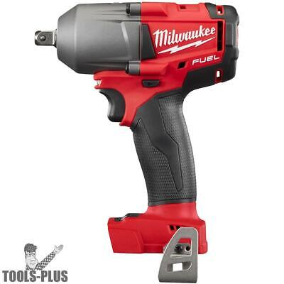 "Milwaukee 2860-20 M18 FUEL 1/2"" Mid-Torque Impact w/Pin Detent (Tool Only) New"