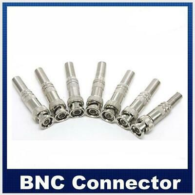 5PCS Copper pin BNC Connector Video  Solderless with screw  for CCTV monitoring