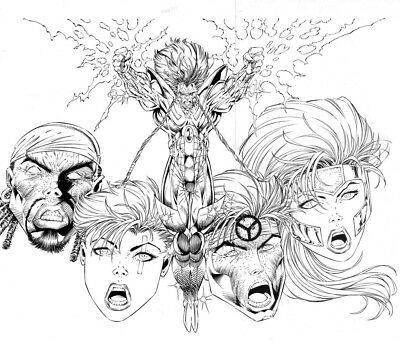 Extreme Destroyer Epilogue Cover by Rob Liefeld and Jonathan Sibal