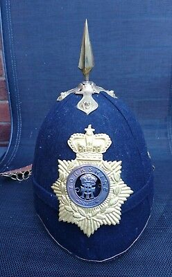 Yorkshire Rgt (Princess of Wales's Own) Blue Cloth Helmet- Other Ranks