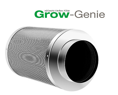 "Grow-Genie´s Ultimate Carbon Filter 300 m³/h  Ø 125 mm ""Gerüche ade"""